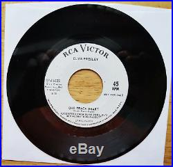 WOW! UNPLAYED MINT White Label promo Elvis Presley ROUSTABOUT SP-45-139