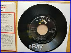 Wow! Mint! Elvis Presley Perfect For Parties Highlight Ep'56 Spa 7-37 Promo