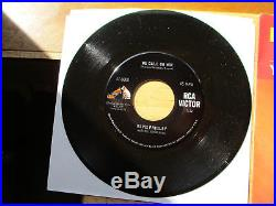Yellow Promo & Mint DOS Elvis Presley We Call On Him with NRMT P/S 47-9600